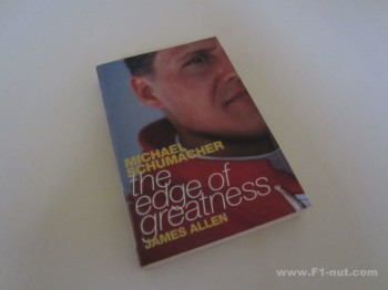 Schumacher Edge of Greatness Book Cover