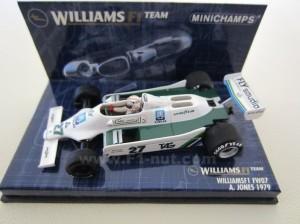 Minichamps Williams FW07 Jones