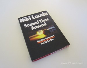 Lauda Second Time Around Book Cover