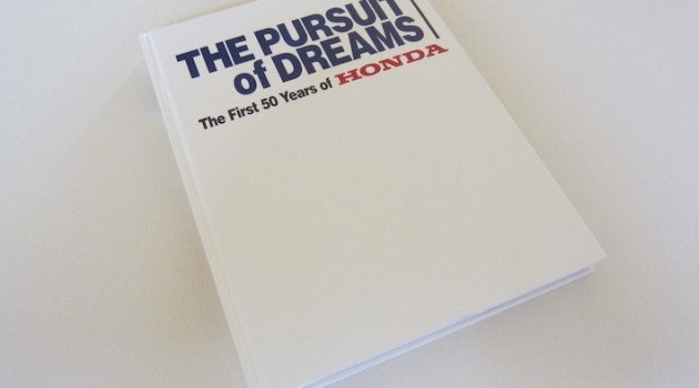 Honda The Pursuit of Dreams Book Cover