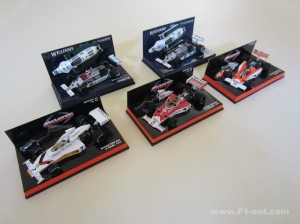 Minichamps M23 and FW07