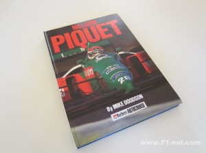 Nelson Piquet book cover