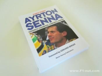 Ayrton Senna book cover