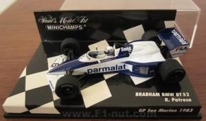 Minichamps BT52 Patrese