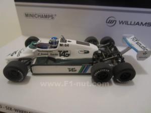 Minichamps Rosberg FW08B