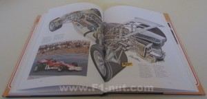Classic Racing Cars book pages