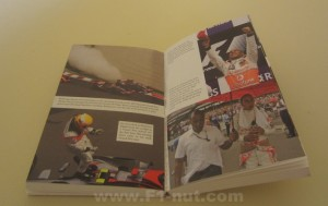 Lewis Hamilton The Full Story Book pages