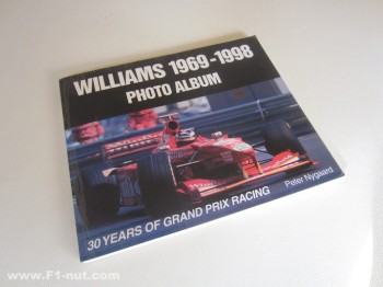 Williams photo album book cover