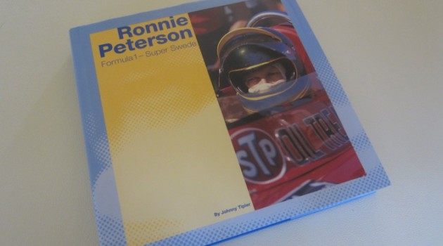 Ronnie Peterson Super Swede book cover