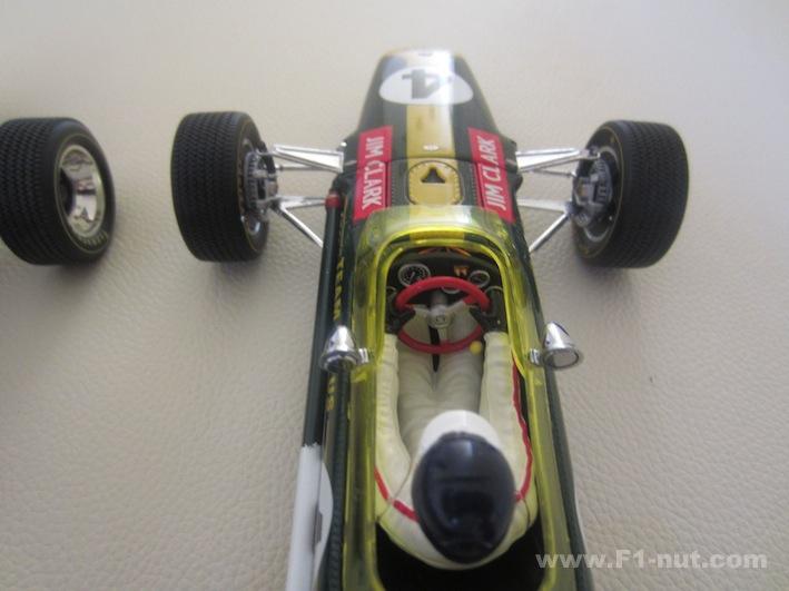 F1 1:18 diecast review: Exoto v Quartzo – Jim Clark Lotus 49
