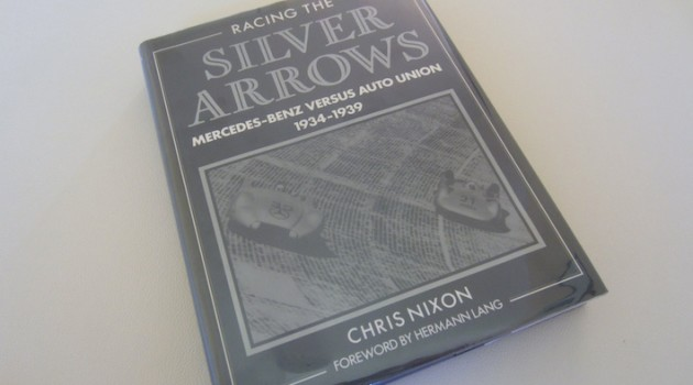 Racing the silver arrows book cover