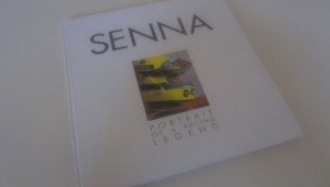 senna portrait of a racer book cover