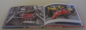 Gilles Villeneuve book pages