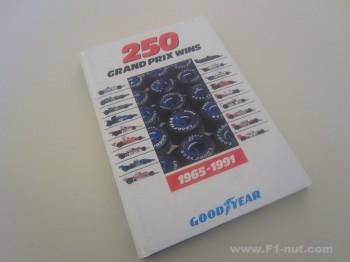 GoodYear 250 Grand Prix Wins Book Cover