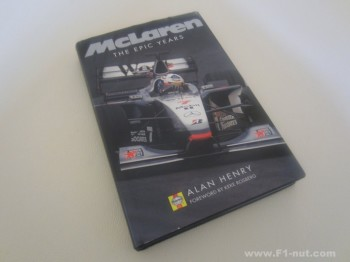 McLaren The Epic Years book cover