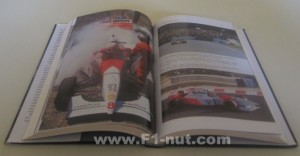 McLaren The Epic Years book pages