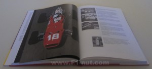 Ferrari Grand Prix cars book pages