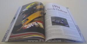 Senna Prince of Formula 1 book pages