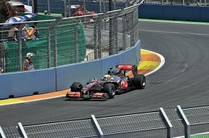 Hamilton Valencia Grand Prix
