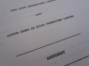 senna lotus contract