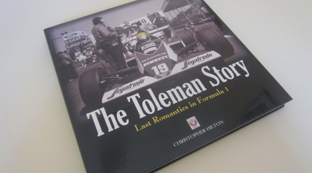 The Toleman Story book cover
