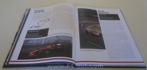 History of Formula 1 book pages