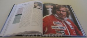 Murrary Walker's Formula One Heroes book pages