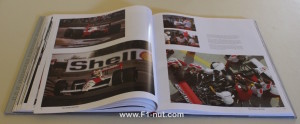 McLaren Formula 1 book pages