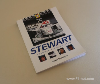 Stewart F1 Racing Team book cover