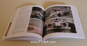 Stewart F1 Racing Team book pages