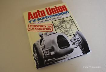 Auto Union V16 book cover