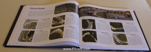 Formula One Circuits from Above book pages