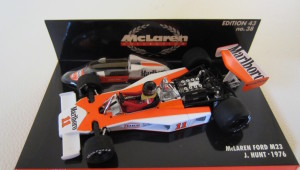 Minichamps Hunt Mclaren M23