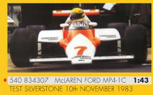 Senna MP4-1C