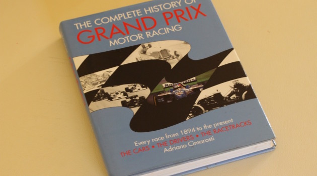 Complete History of Grand Prix Book Cover