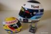 Hakkinen Hamilton Senna replica helmets
