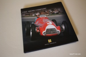 First Among Champions Book Cover Alfa Romeo Grand Prix Cars