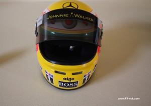 Lewis Hamilton 1:2 race helmet 2008