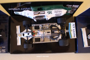 Overhead of the new Williams FW07B