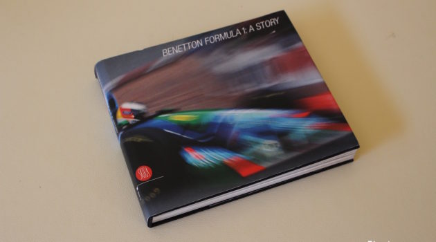 benetton F1 book cover