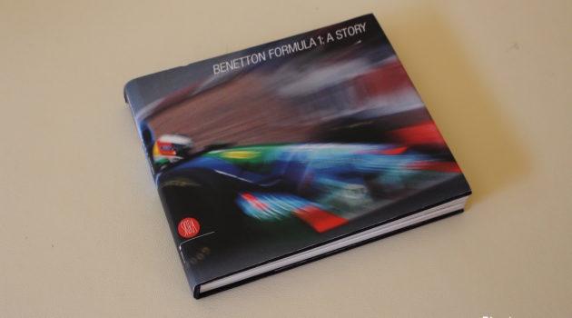 benetton F1 book cover