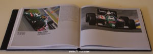 benetton F1 book pages