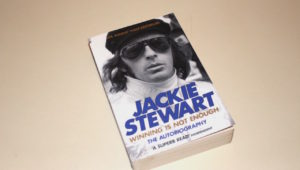 Jackie Stewart Winning is not enough book cover