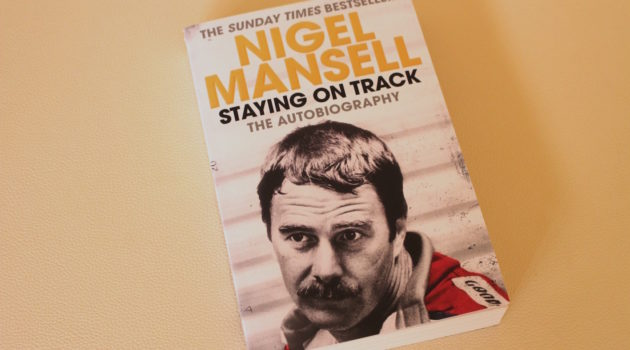 mansell staying on track book cover