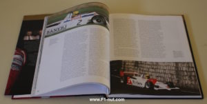 senna above and beyond book pages