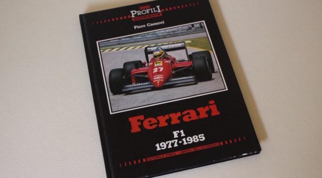 Ferrari F1 1977-1985 casucci book cover