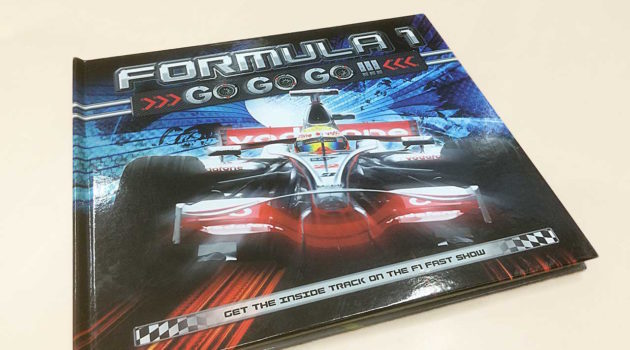 Formula 1 go go go book cover