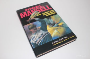 nigel mansell pictorial book cover