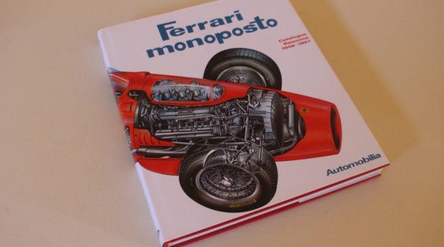 Ferrari monoposto book cover