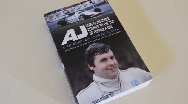 AJ - How Alan Jones Climbed to the top of Formula One book cover